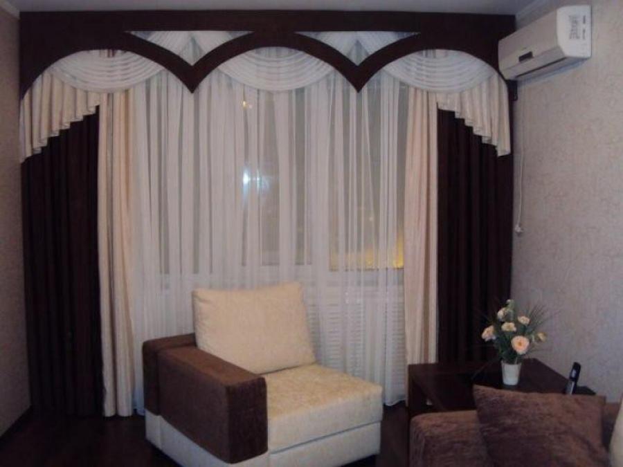 Модные шторы и современный дизайн помещения