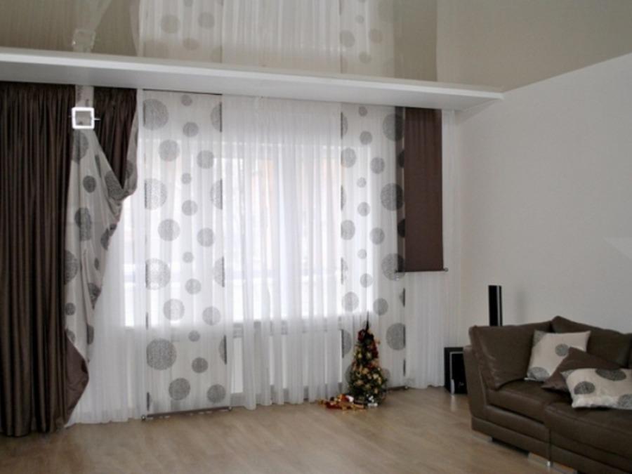 Как выбрать шторы в гостиную - полезные советы
