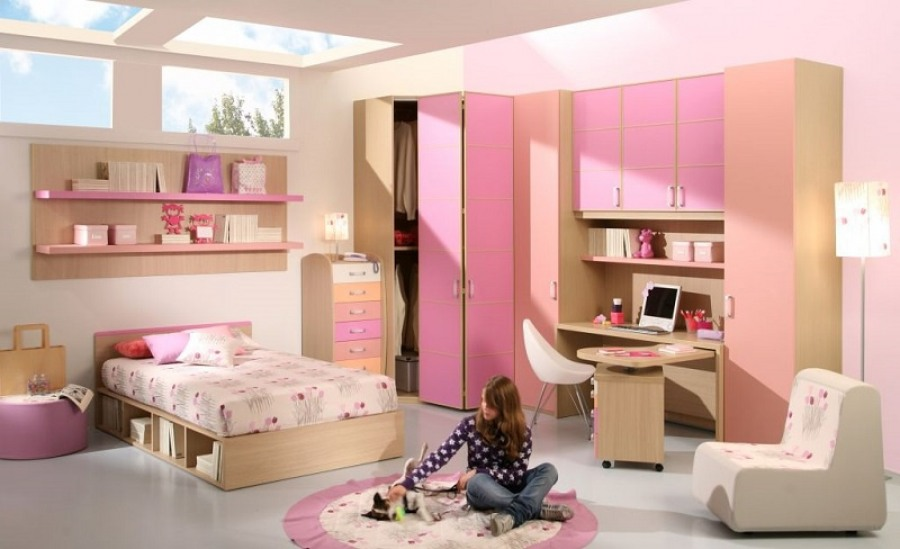 Особенности оформления комнаты для подростка девочки