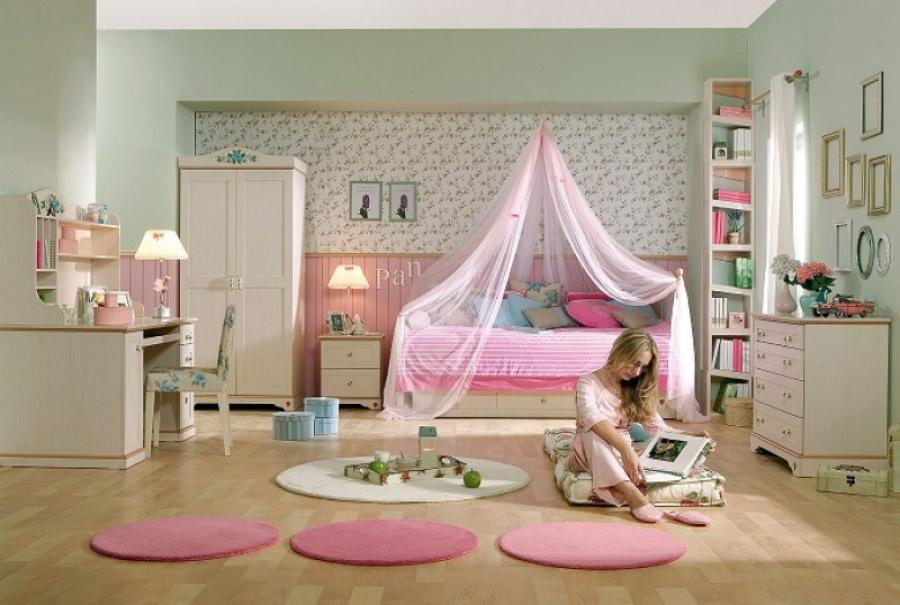 Варианты оформления спальни для девочки подростка