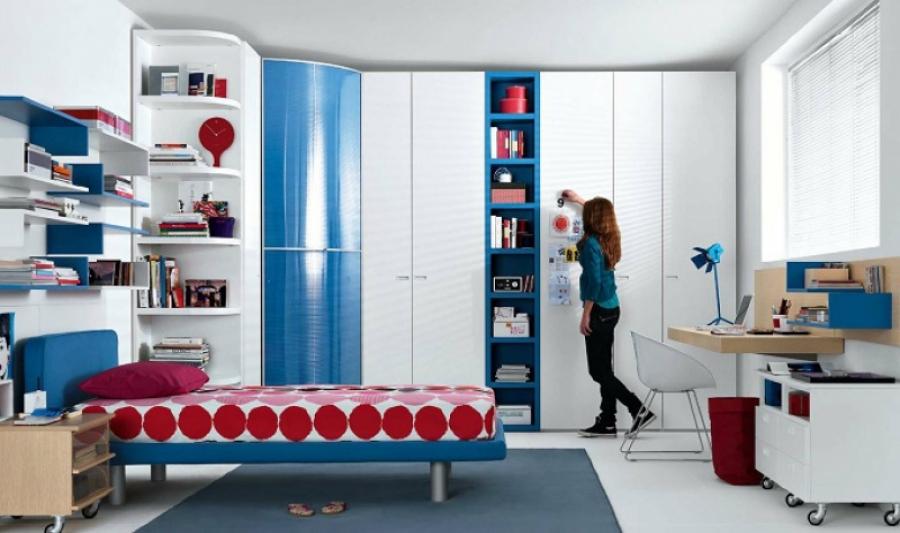 Правила организации места для отдыха и творчества в комнате подростка