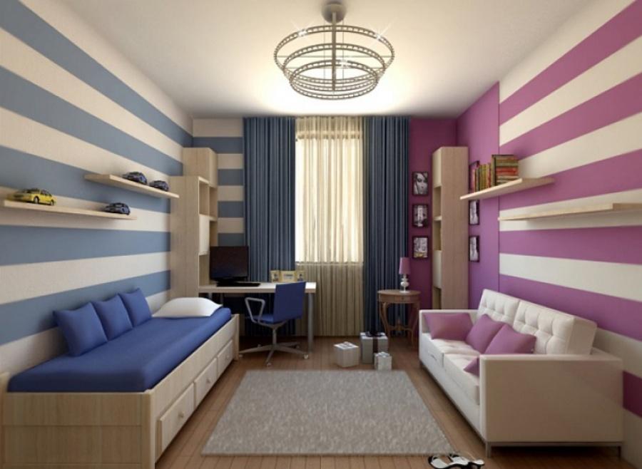 Рекомендации дизайнеров, как оформить комнату для двух подростков