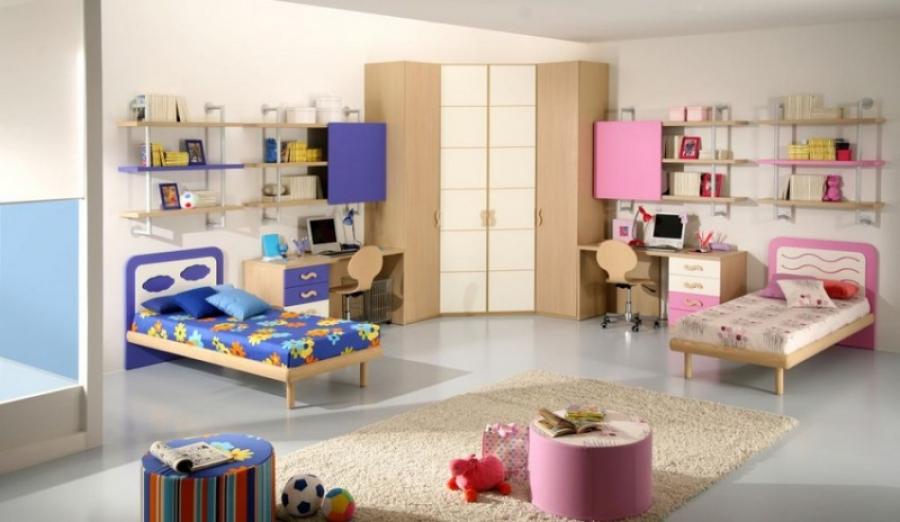Нюансы оформления одной комнаты для мальчика и девочки