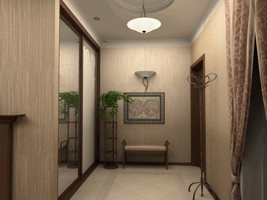 Идея оформления коридора