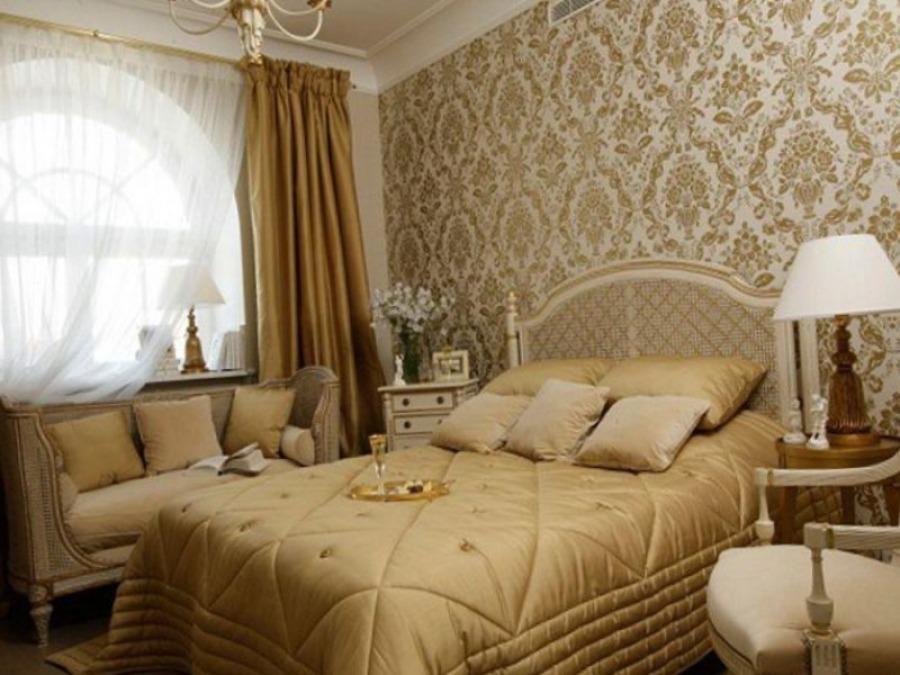Как правильно выбирать обои для спальни - цвет и узор.