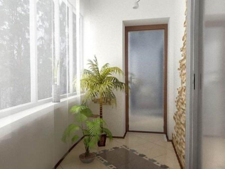 Варианты оформления интерьера балкона или лоджии