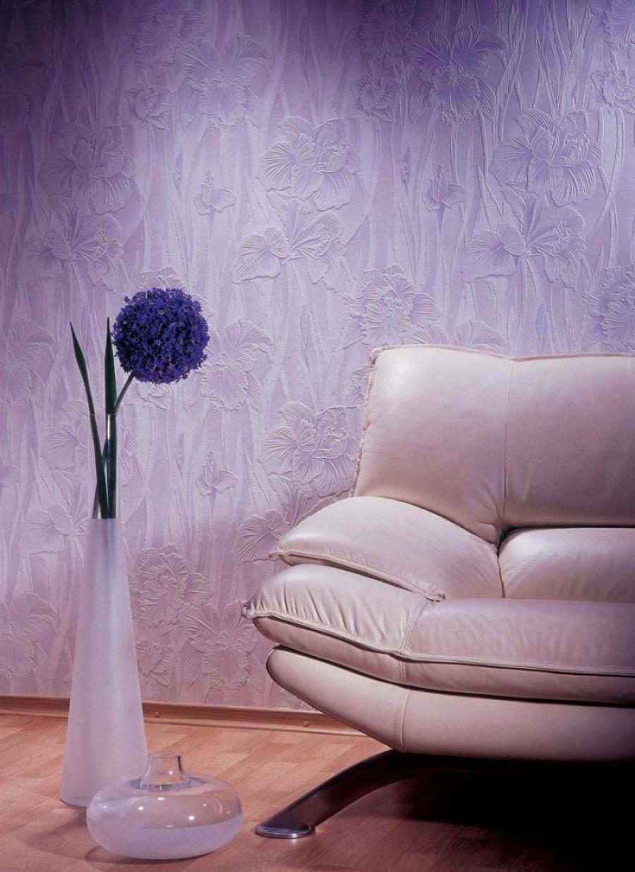 Интерьер стен под покраску