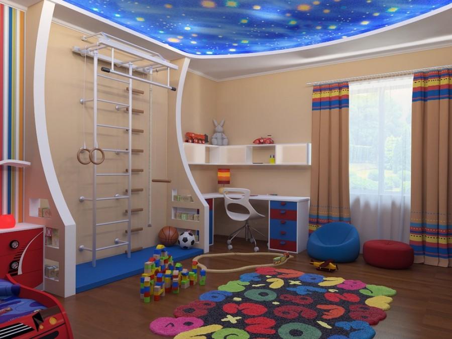 Современный дизайн детской