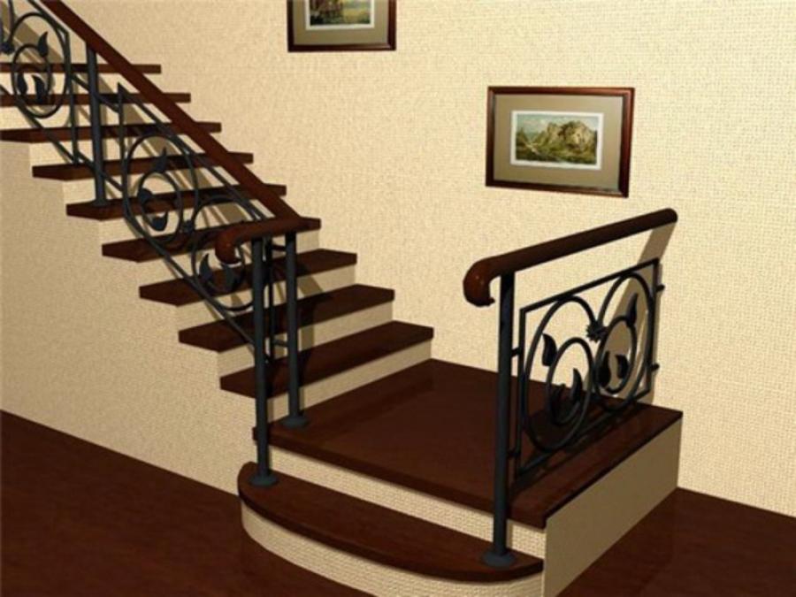 Деревянные лестницы как элементы домашнего интерьера
