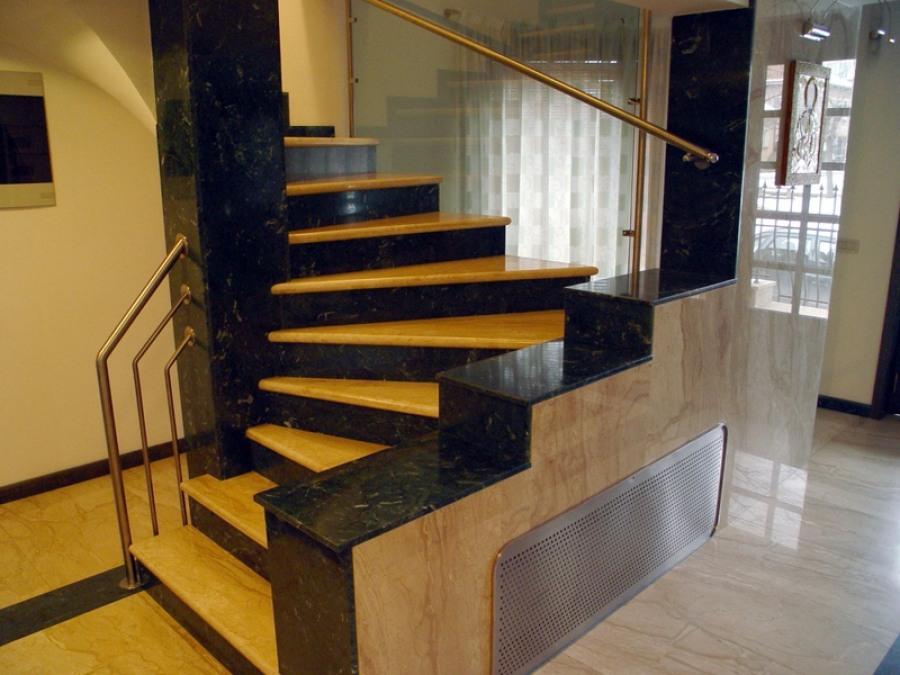 Современный вид лестниц