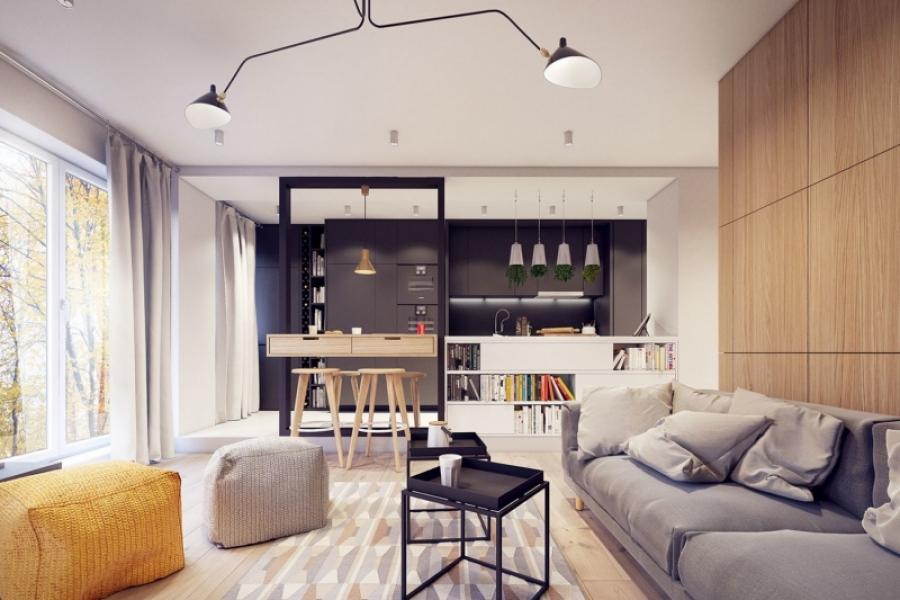 Варианты дизайна квартиры