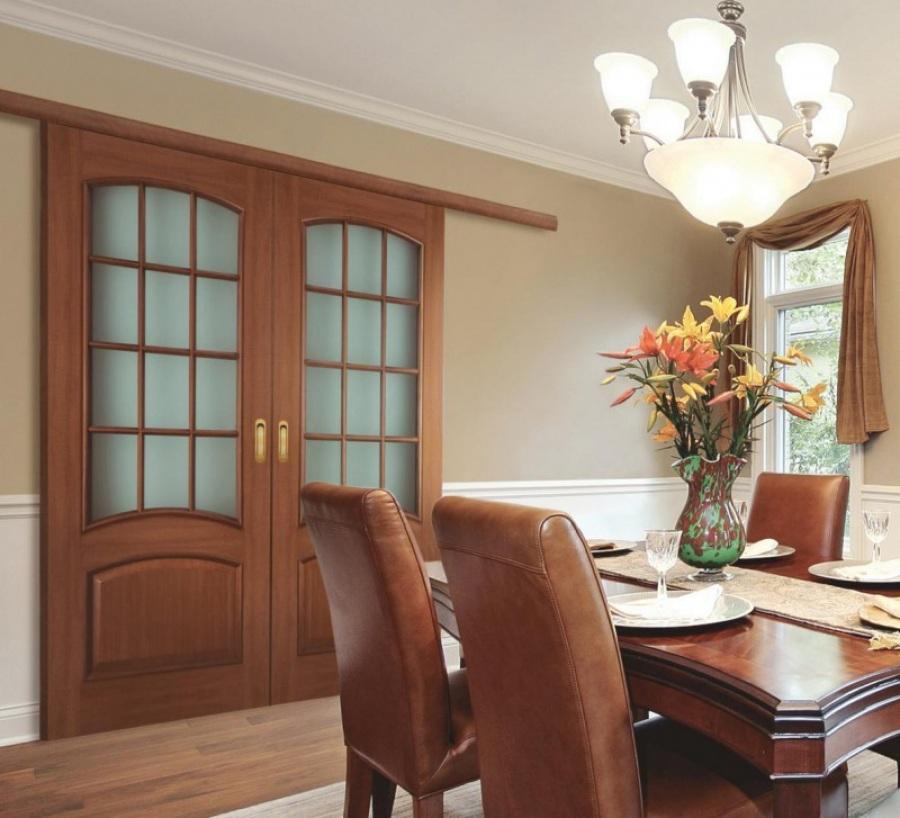 Большие двери в комнату дизайн
