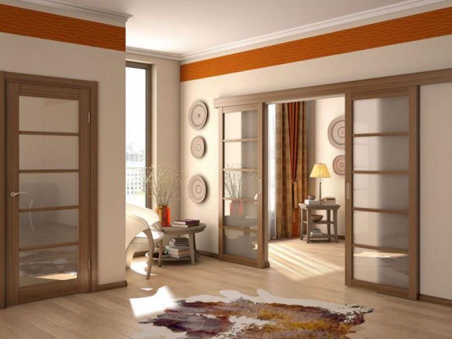 Дизайнерские раздвижные двери
