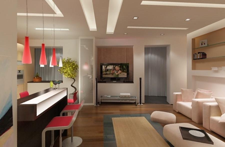 Дизайн кухни гостиной - удобно и красиво
