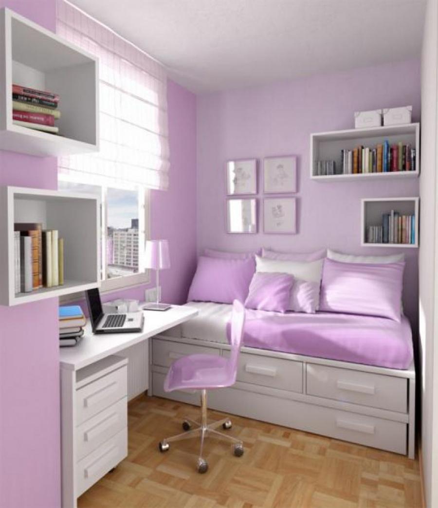 Фото детской комнаты - девочка-подросток будет довольна