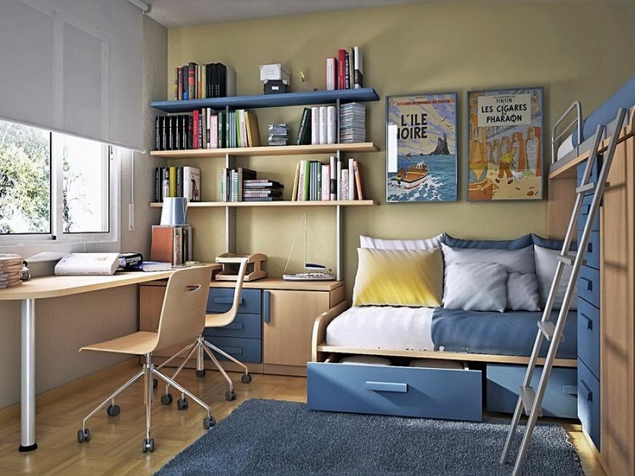 Комната для мальчика школьного возраста должна быть, прежде всего, комфортной.