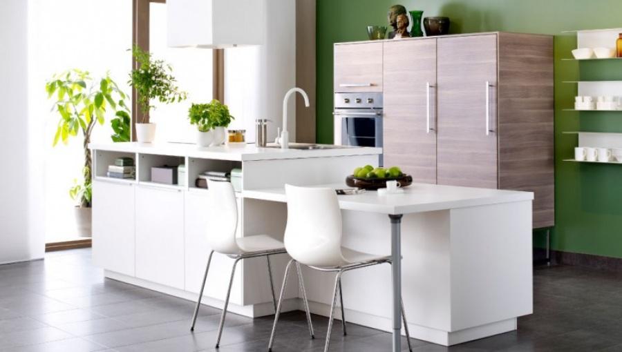 Кухонная мебель Икеа в интерьере