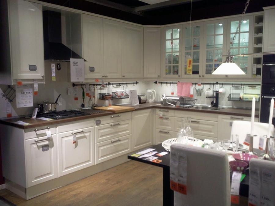 Кухонный интерьер от икеа