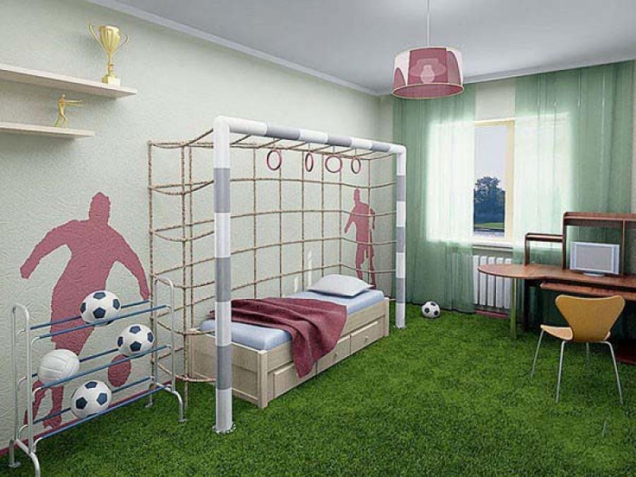 Дизайн детской для мальчиков - дети будут в восторге