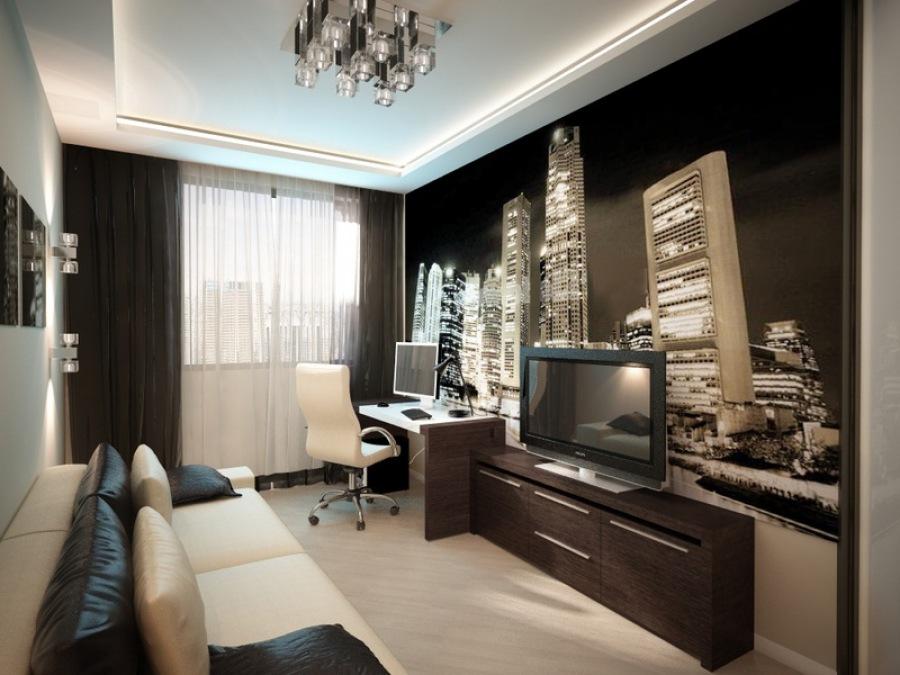Дизайн комнаты для подростка или молодого человека