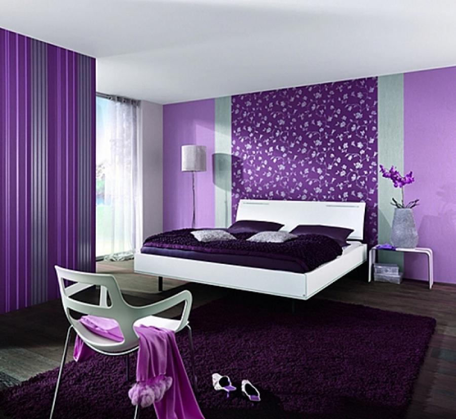 Какой цвет обоев выбрать для спальни фото