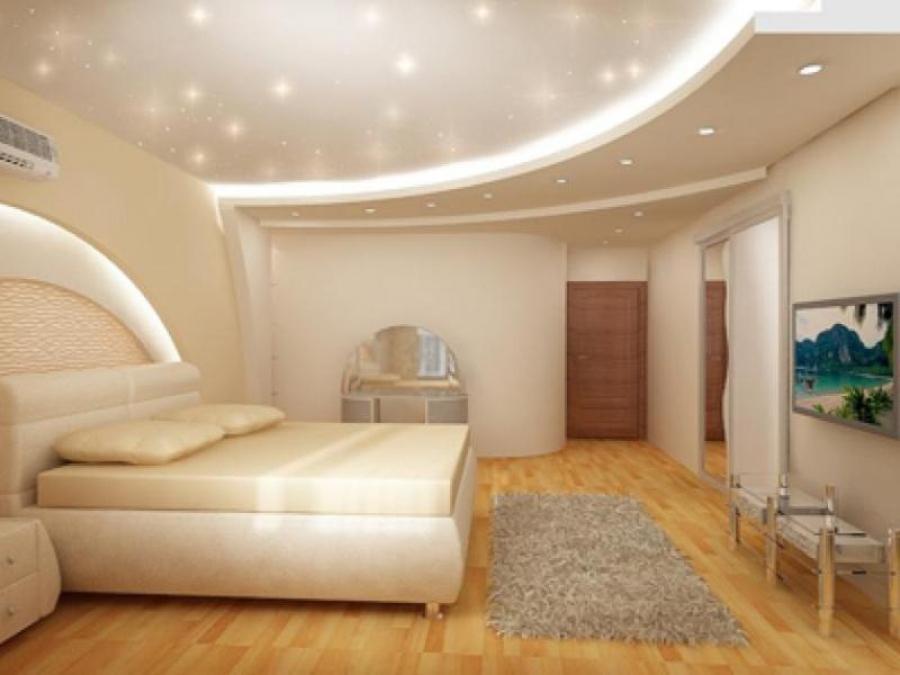 Современный дизайн натяжные потолки