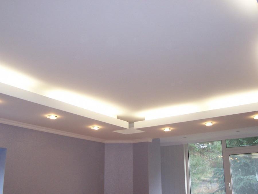 Современный вид потолка