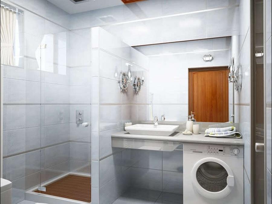 Дизайн душевых комнат с туалетом