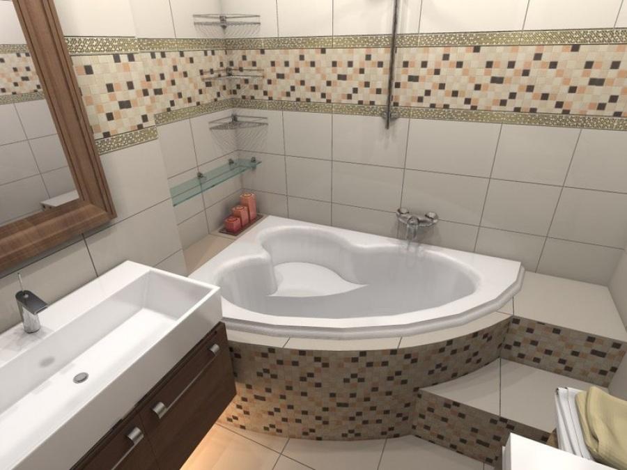 Проект ванной комнаты в квартире