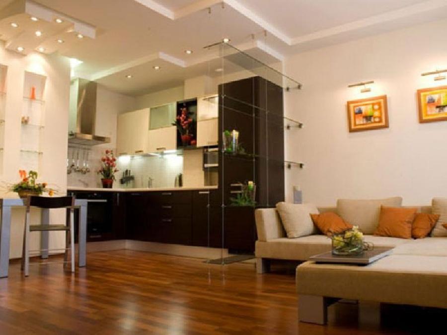 Кухня в квартире студии