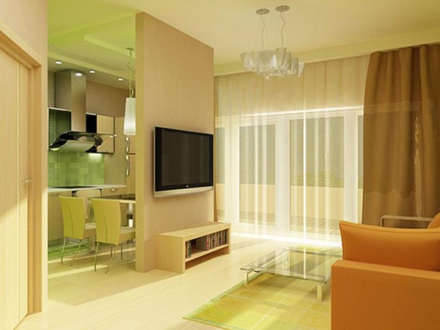 Идея оформления квартиры студии