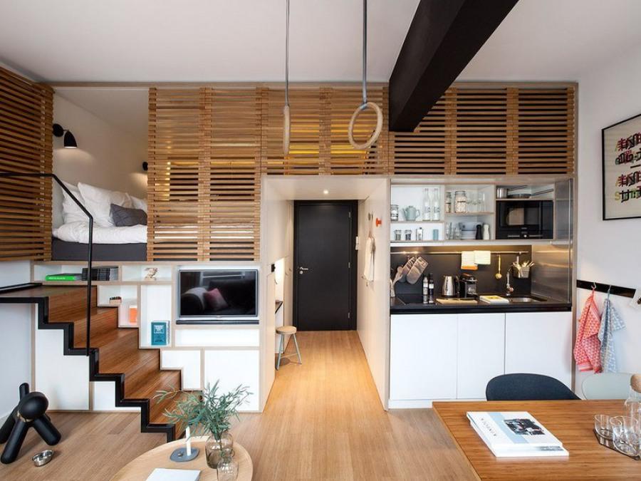 Дизайн комнаты студии