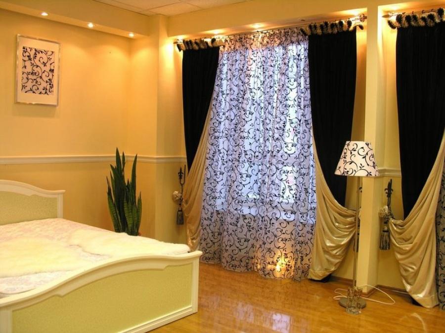 Классификация штор в спальню