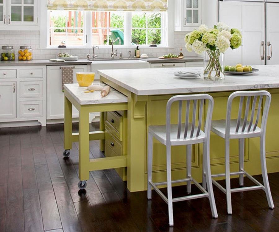 Форма и размеры кухонного стола