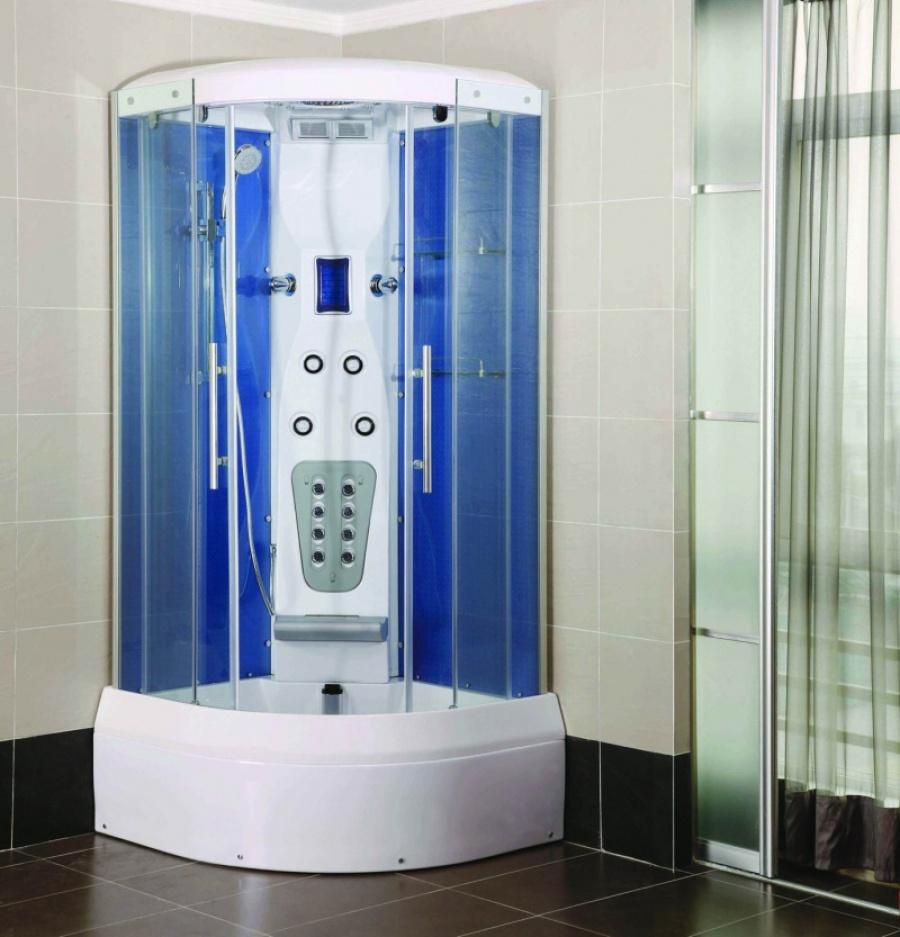 Закрытые душевые кабины позволяют комфортно и безопасно мыться
