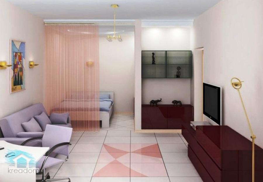 Фото дизайна интерьера комнаты студентов - интересная планировка для общежития