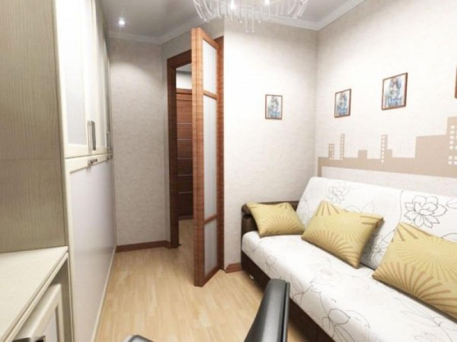 Маленькая комната может быть очень удобной