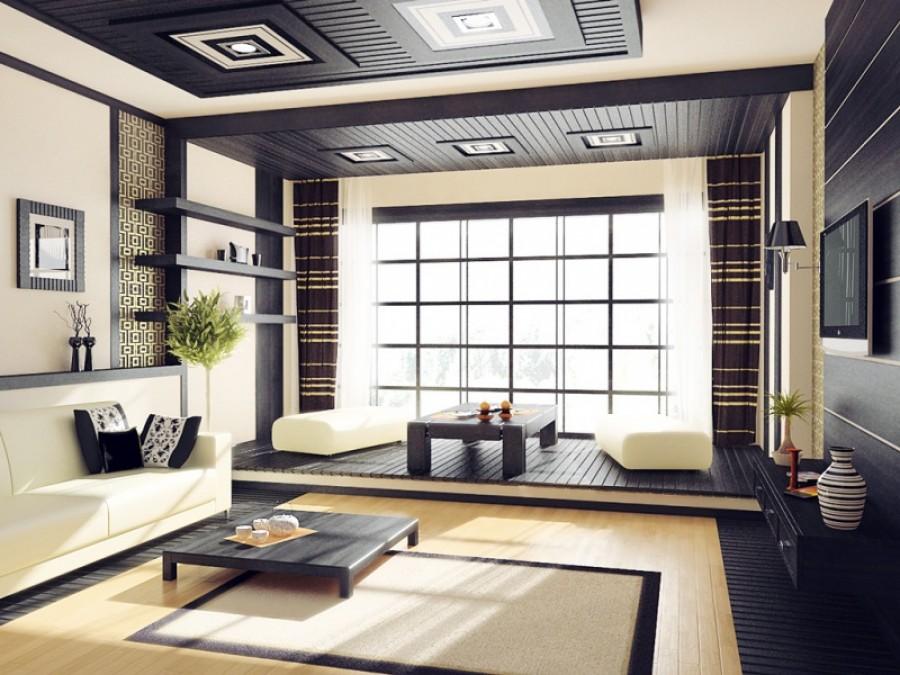 Японский дизайн всегда лаконичен и просторен.