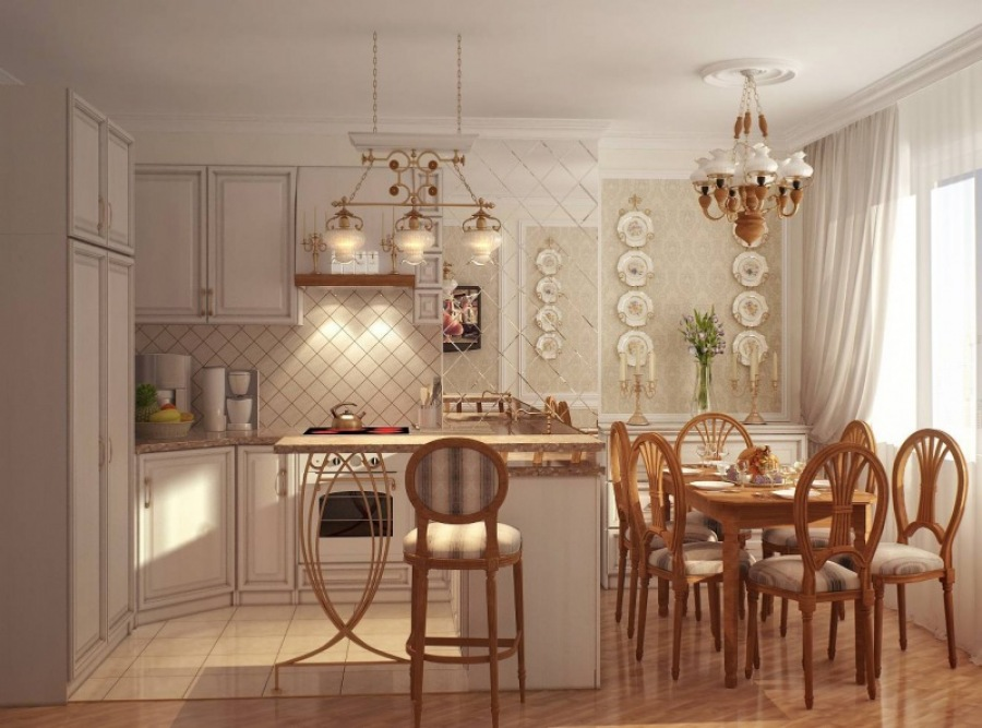 Кухня в стиле прованс - это очень уютное решение