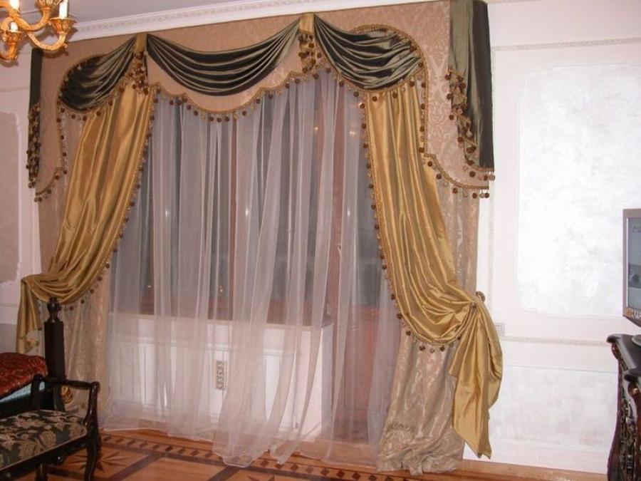 Дизайнерские  шторы и гардины
