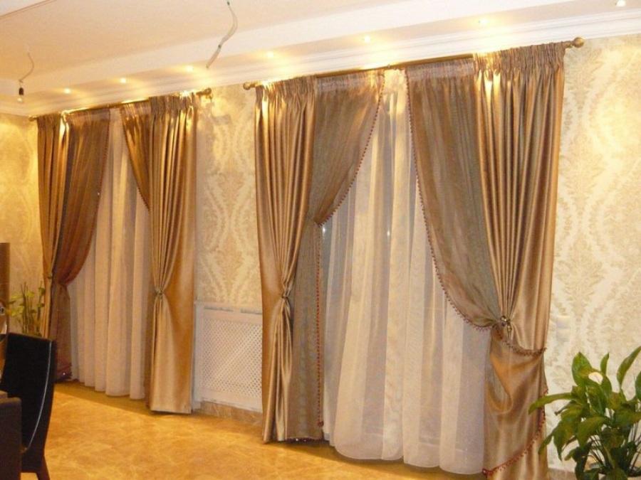 Красивые шторы в доме