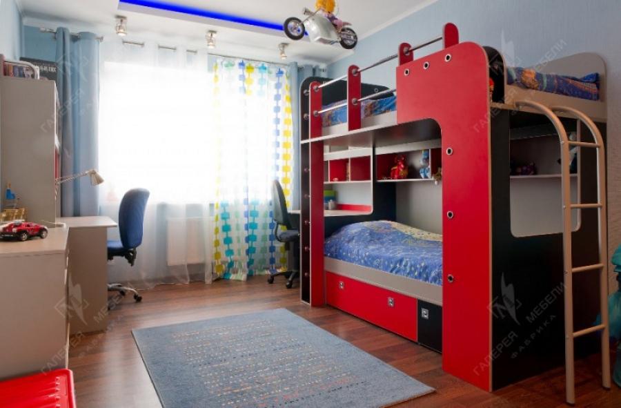 Детская для мальчиков - обустраиваем комнату для двоих детей