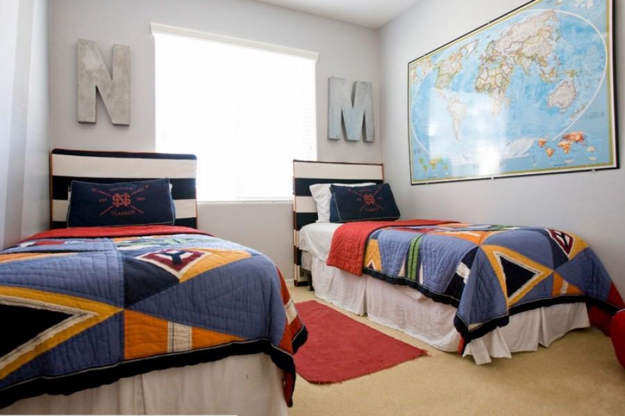 Мальчиковая спальня - все, что нужно двум мальчикам.