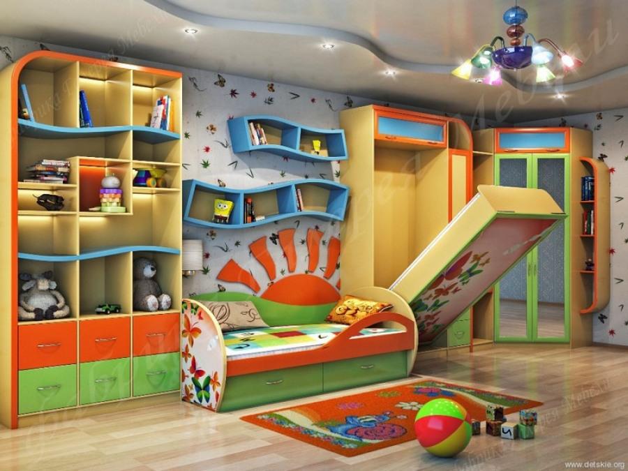 Многофункциональная мебель для детской