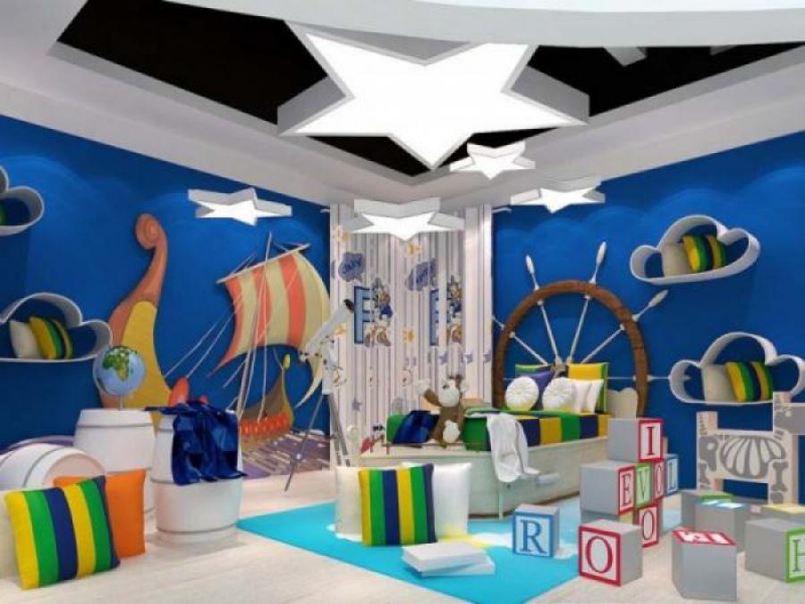 Дизайн мальчиковой комнаты для дошкольника