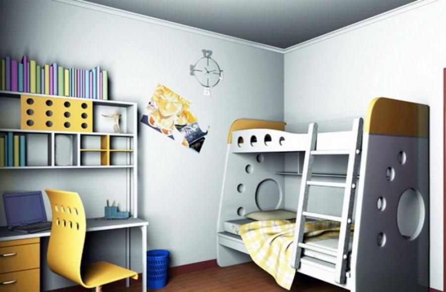 Стиль хайтек  в детской комнате - фото