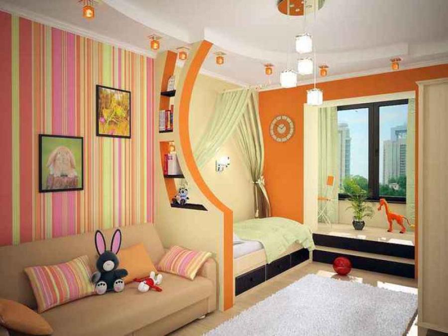 Как правильно раставить мебель в детской