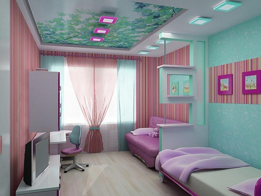 Проект комнаты для двоих