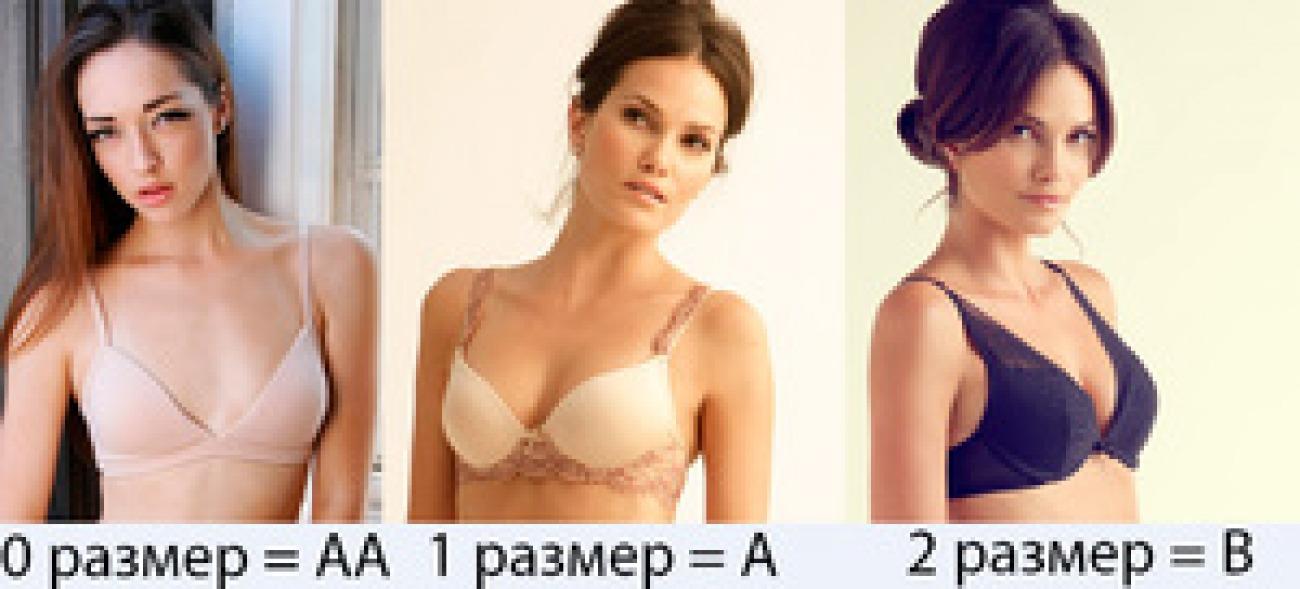 2ой Размер Груди Фото