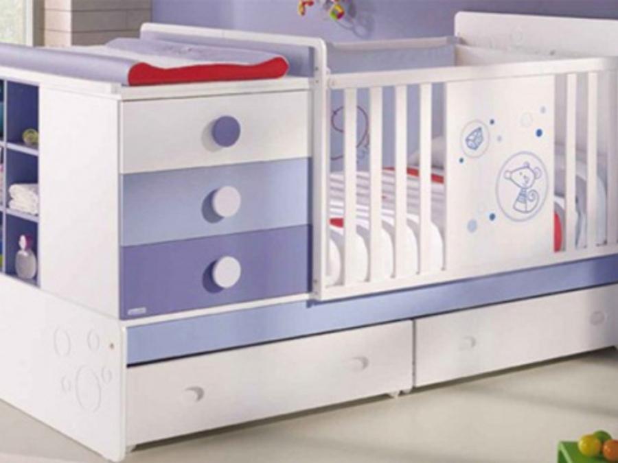 Дизайн кроватки для новорожденного